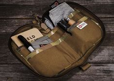 """The small """"Major"""" gear pouch. A great storage solution for all that EDC gear you've been collecting. #kfdGroupCommercialDivingEquipment #edcgear"""