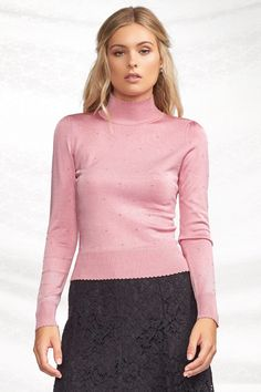 inside 3_mauve Afternoon Delight, Polo Neck, Work Wardrobe, New Work, Mauve, High Neck Dress, Turtle Neck, Clothes For Women, Sweaters