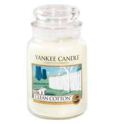 Candle    Clean Cotton