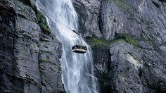The Mürrenbachfall - Switzerland Tourism