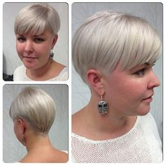 Fat Women Hairstyles Designs for Short Hair - Women Haircuts 2015