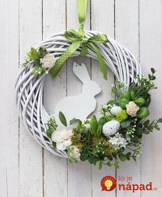 Items similar to easter bunny wreath door wreaths white green decorations mo . - Items similar to easter bunny wreath door wreaths white green decorations moss decor on etsy – - Diy Wreath, Door Wreaths, White Wreath, Etsy Wreaths, Grapevine Wreath, Diy Ostern, Ostern Party, Deco Floral, Easter Crafts