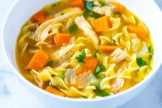 Taste Of Home Chicken Noodle soup Recipes is One Of Liked soup Recipes Of Several Persons Around the World. Besides Simple to Make and Good Taste, This Taste Of Home Chicken Noodle soup Recipes Also Health Indeed. Healthy Dinner Recipes, Soup Recipes, Diet Recipes, Healthy Snacks, Broccoli Recipes, Noodle Recipes, Easy Homemade Chicken Noodle Soup Recipe, Chicken Soup, Recipe Chicken