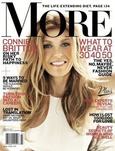 Connie Britton Talks About Her Famous Hair in More Magazine's March Issue. Did you know her hair has its own blog and Twitter?
