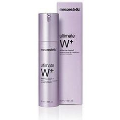 Mesoestetic Ultimate W+ Whitening Cream Skin Care Clinic, Best Natural Skin Care, Whitening, Vodka Bottle, How To Look Better, Medical, Personal Care, Cosmetics, Cream