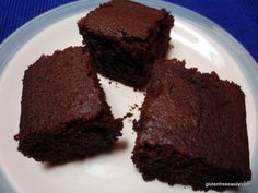 Simple and Good Chocolate Cake (Gluten Free, Dairy Free, Refined Sugar Free, Vegan)