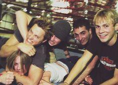 Avril, Matt ,Jesse, Charlie, Evan