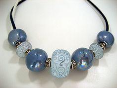 Zandstorm: Halsketting met stenen (Juwelen,halsketting)