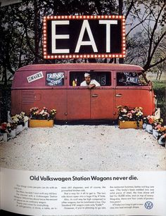 Old Volkswagen Station Wagons never die.