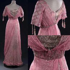 Evening Dress, ca. 1912-1914. Musée Galliera, Paris