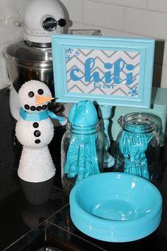 "Photo 1 of 17: 1st birthday, winter onederland, snow party / Birthday ""Levi's Winter OneDerland"" | Catch My Party"