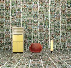 NLXL launches Archives wallpaper by Studio Job at Milan design week