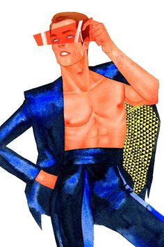Kevin Wada Takes the X-Men and More into the World of High-Fashion [Art]