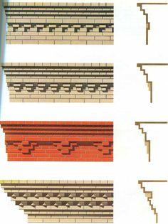 New Ideas for house ideas exterior brick architecture Minecraft Brick, Minecraft Building Guide, Minecraft Plans, Minecraft Medieval, Minecraft City, Minecraft Room, Minecraft Construction, Minecraft Tutorial, Minecraft Blueprints