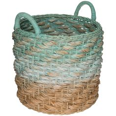 Tita Basket Storage Baskets, Interior, Projects, Crafts, Blue, House Ideas, Home Decor, Inspire, Log Projects