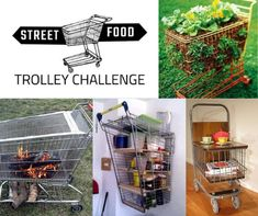 Dolly's Street Food Trolley Challenge, design and run your own street food operation Food Trolley, Street Food, Challenges, Concept, Canning, Create, Awesome, Shopping, Design