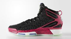 premium selection c44b8 db458 The adidas D Rose 6 Decorated for Halloween Rose Adidas, Black Adidas,  Boost Shoes