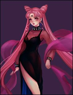 Sailor Moon's Fan Art, Dark Queen of black lady, I think the series of role modeling is very attractive. Sailor Moon Kostüm, Sailor Moon Villains, Sailor Saturn, Sailor Moon Cosplay, Akali League Of Legends, Sailor Moon Kristall, Sailor Moon Wallpaper, Black Moon, Pink Moon