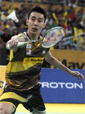 Lee Chong Wei armed with his new VOLTRIC Z-FORCE Badminton, Basketball Court, Sports, Comic, Hs Sports, Sport
