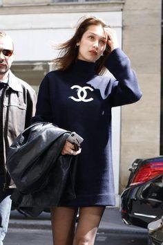 Bella Hadid in Chanel