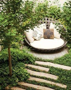 Corner Seating, Outdoor Seating Areas, Garden Seating, Outdoor Spaces, Backyard Seating, Outdoor Kitchens, The Secret Garden, Secret Gardens, Hidden Garden