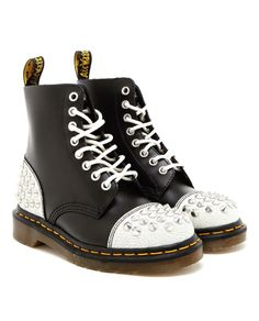 DR MARTENS | Studded Leather Air Wair  Boots More spikes:):)