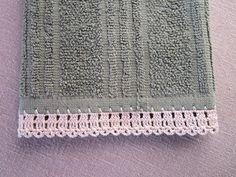 """Miss Abigail's Hope Chest: """"Garden Series"""" Crochet Edgings: #1-The Garden Fence"""
