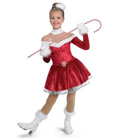 - Santa Baby colors: 52 Red, 53 Royal, 63 Kelly by A Wish Come True Christmas Dance Costumes, Fancy Costumes, Christmas Costumes, Little Girl Costumes, Little Girl Dresses, Girls Dresses, Cool Kids Clothes, Cute Outfits For Kids, Dance Outfits