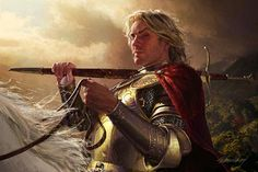 """""""Jaime Lannister"""" by By Michael Komarck (2004) 