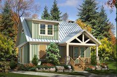 Adorable Cottage - 58550SV | Architectural Designs - House Plans