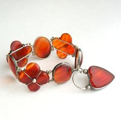 Antique Victorian Jewelry Bracelet Scottish Agate by TheDeeps, $520.00