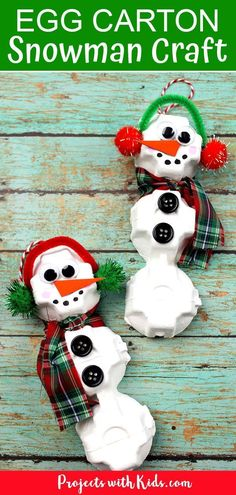 Easy and Fun Christmas Crafts for Toddlers These Paper Snowman Crafts for kids to make are so cute. Who could resist their round pot bellies and big smiles! This easy Winter craft for kids comes with a free paper snowman craft template. Easy Christmas Ornaments, Christmas Ornament Crafts, Snowman Crafts, Kids Christmas, Holiday Crafts, Diy Ornaments For Kids, Snowman Ornaments, Christmas Projects For Kids, Kids Ornament