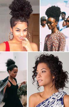 Quantas vezes você viu referências para mulheres de cabelos crespos e cacheados…