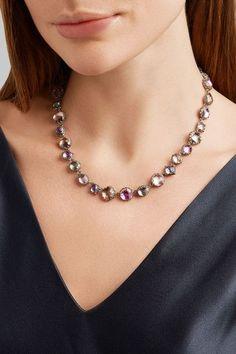 Larkspur & Hawk - Sadie Rivière Rhodium-dipped Quartz Necklace - Silver - one size