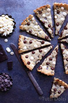 triple chocolate cream cheese cookie bars