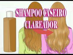Clareamento natural como clarear o cabelo com um shampoo caseiro Por Nin...