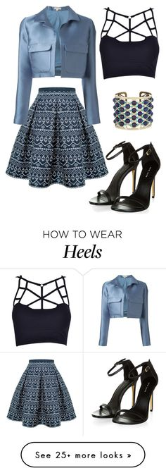 """""""The Skirt"""" by carlafashion-246 on Polyvore featuring Rumour London, P.A.R.O.S.H. and Etro"""