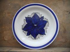Swedish Vintage plate Rorstrand Pontus Handpainted