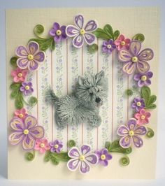 Quilling Card Anniversary quilling Card Love от QuillyVicky