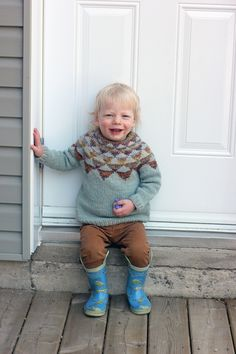 Knitting for kids. Garland Pullover - again — Tanis Fiber Arts
