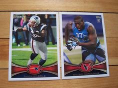 2012 Topps ILLINOIS FIGHTING ILLINI RC Lot WHITNEY MERCILUS TAVON WILSON Rookies