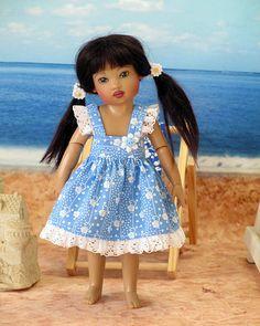 Cornflower Blue Sundress for Riley Kish