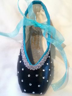 Soulmate Decorated Pointe Shoe by JazzedUpPointes on Etsy, $29.00