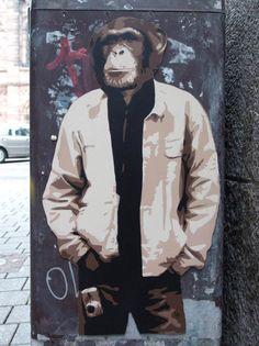 Pochoirs et Animaux – Le street art par TUCO