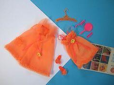 Barbie-Francie-Vintage-Casi-Completo-Traje-de-repeticion-de-alarma-noticias-1226-Envio-Gratuito-EE