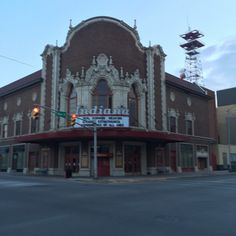 If you are looking for a movie, the Indiana Theatre is the place to go!