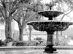 Hyde Park Village Fountain by LSTPhotography on Etsy, use coupon code Pinned15 to save 15% off your entire purchase