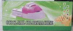 Gcocl Nail Colours Machine DIY Nail Art Printing Machine No Power Required