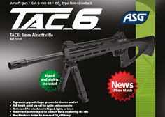 ASG: Introducing The TAC6 Airsoft Rifle