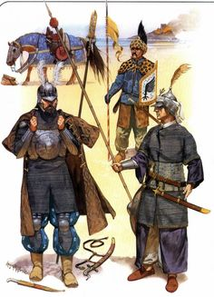 ottoman army infantry in the century AD. – The Lost Treasure Chest Military Art, Military History, Fall Of Constantinople, Armadura Medieval, Army Infantry, Landsknecht, Medieval Armor, Historical Art, Historical Illustrations